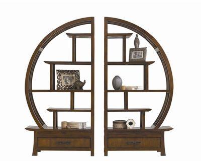 biblioth que ronde angkor de la maison coloniale. Black Bedroom Furniture Sets. Home Design Ideas