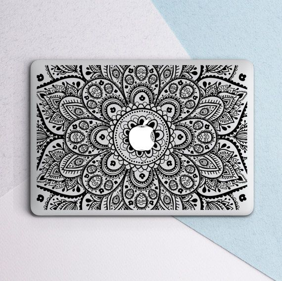 premium selection 17d69 66d62 Macbook Air 13 Hard Case Mandala Laptop Case Mandala Macbook Pro ...