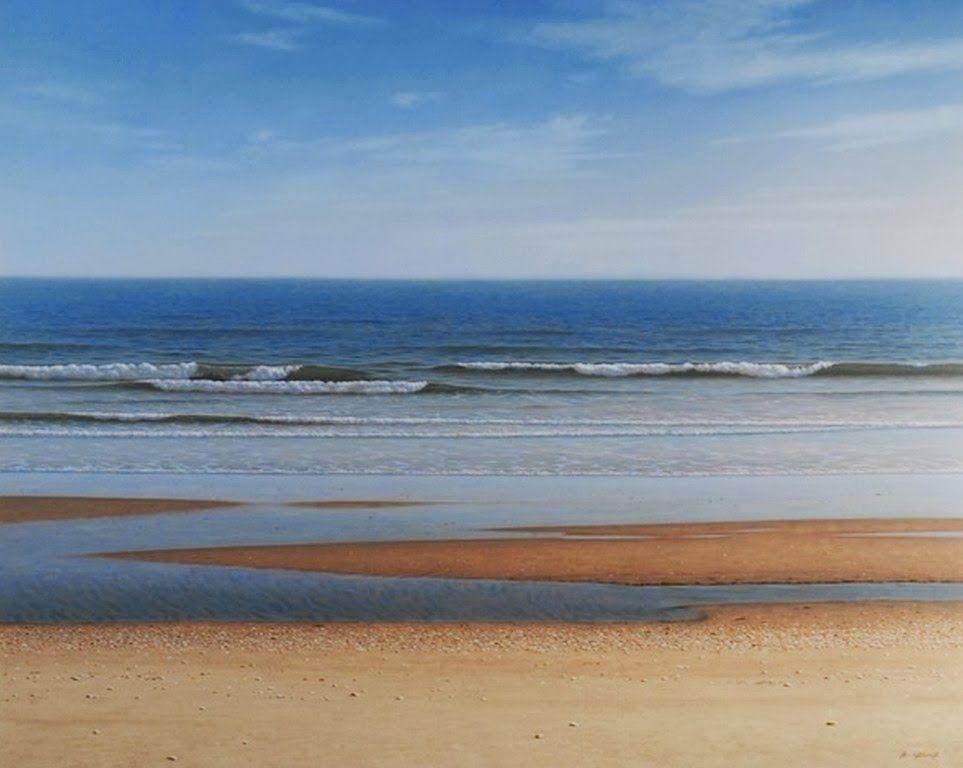 pinturas-de-paisajes-al-oleo-marinos-y-con-playas | Waterscapes ...