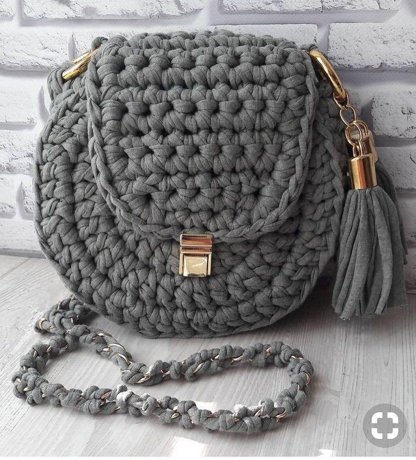 45 lindos y fáciles mejores patrones de bolsos de ganchillo gratis 2019