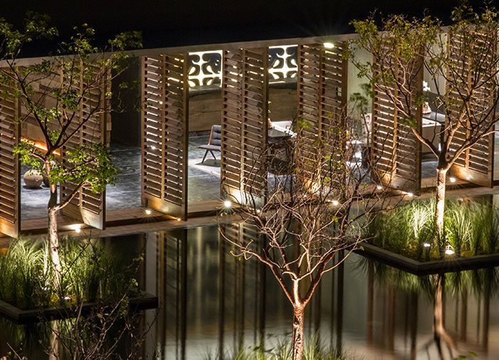 Nizuc resort and spa mexico 39 s exclusive modern luxury for Luxury hotel project