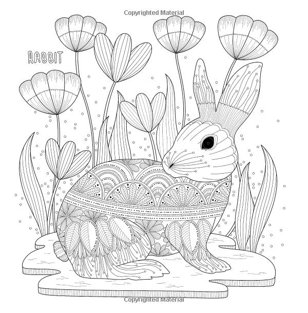 Amazon.com: Fantastic Animals: Coloring Book of Fantastic Journey ...