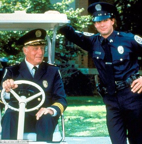 Panto Bound Steve Guttenberg To Direct Police Academy 8 Steve Guttenberg Police Academy Police Academy Movie