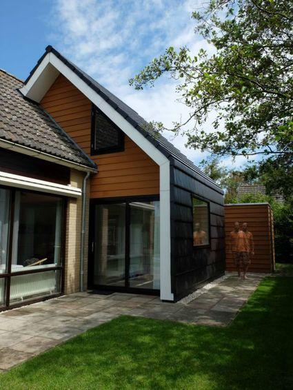 Afbeeldingsresultaat voor moderne aanbouw oud huis idee n voor het huis pinterest google - Oud huis ...