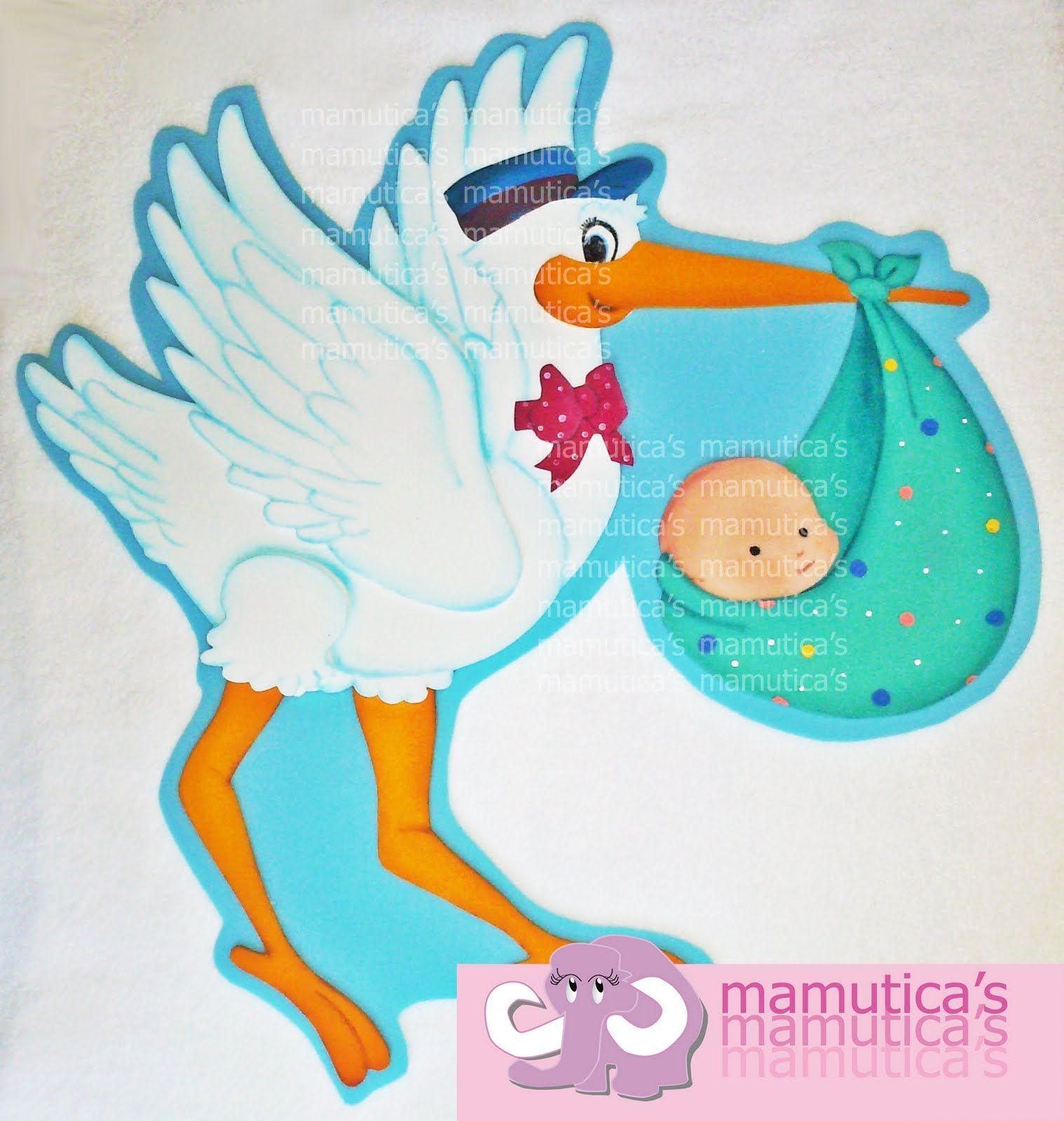 High Quality Resultado De Imagen Para Cigueñas Para Baby Shower