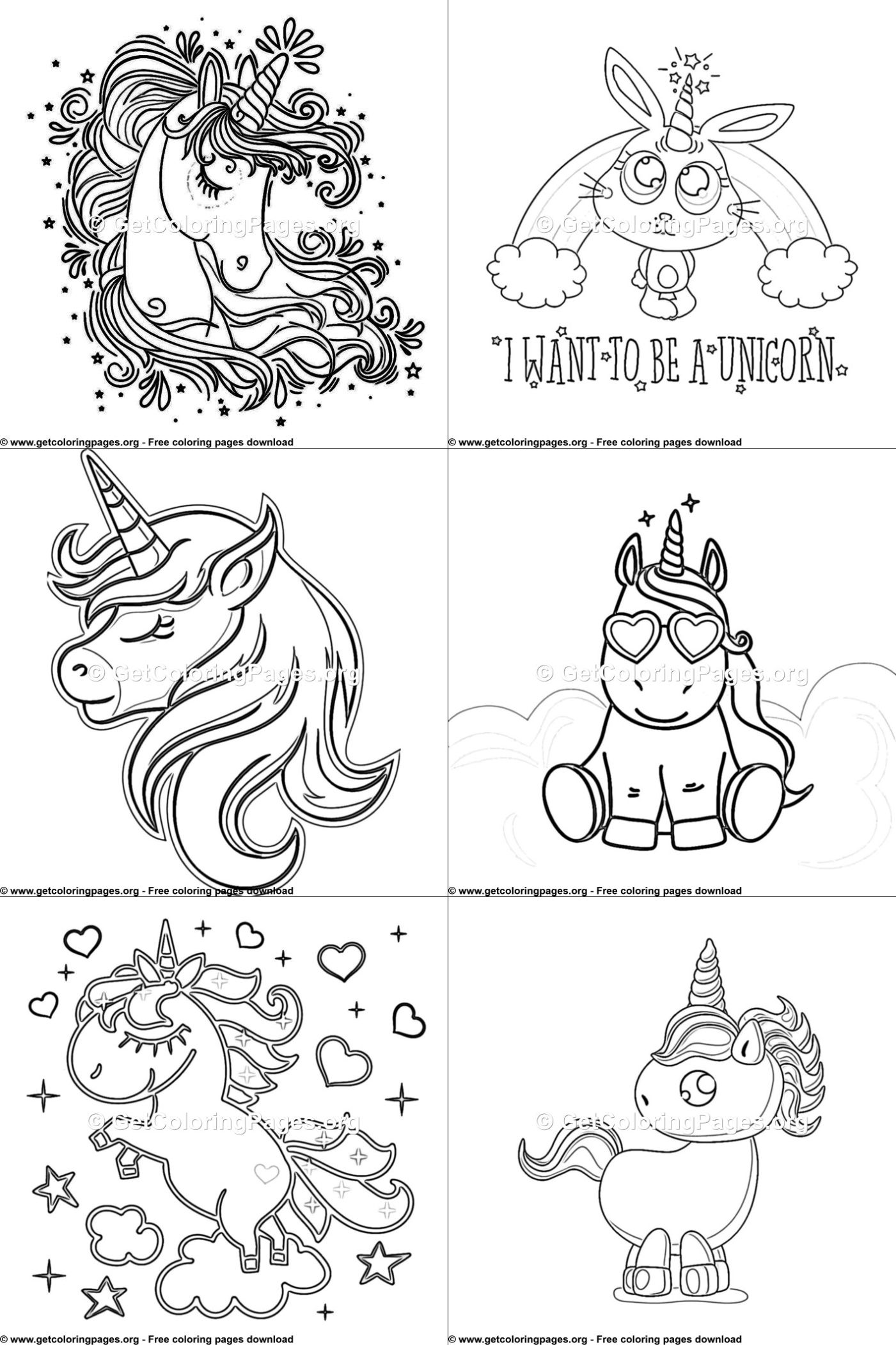Top 35 Free Printable Unicorn Coloring Pages Online Unicorn Coloring Pages Heart Coloring Pages Animal Coloring Pages