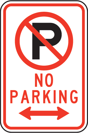No Parking logo | Logos ☼ | Signage, Logos, Business signs