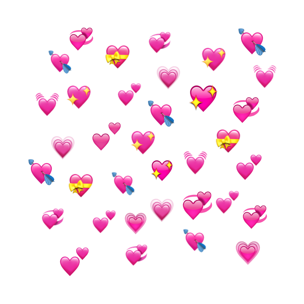 Download Wholesome Heart Emoji Meme Transparent Png Gif Base In 2020 Heart Emoji Stickers Heart Emoji Pink Heart Emoji