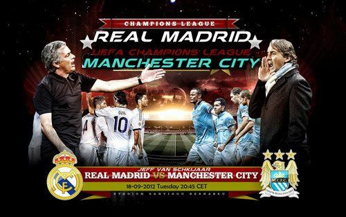 Champions League Match Of The Day Manchester City Vs Real Madrid Who Will Win Manchester City Champions League Match Of The Day