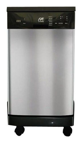 Spt 18 Portable Dishwasher Silver Sd 9241ss