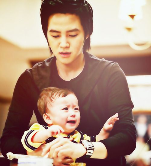 Jang Geun Suk & Moon Mason | Baby and me | Pinterest ...