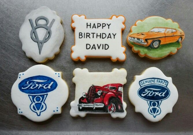 Hand painted ford v8 and ford coupeville cookies for a birthday gift hand painted ford v8 and ford coupeville cookies for a birthday gift facebook negle Choice Image