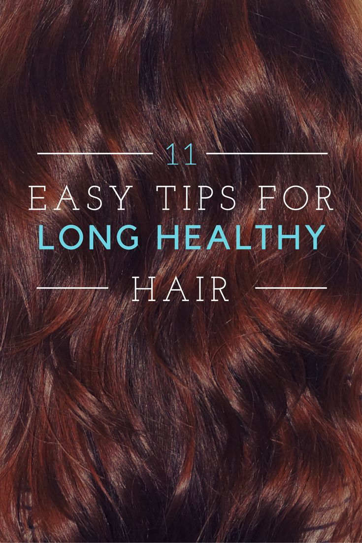 Healthy and long hair in easy steps routine hair care routine