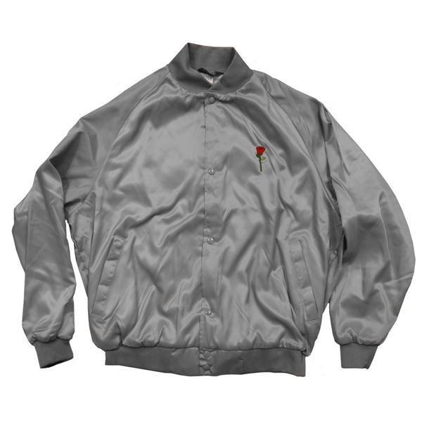 Pin By Mkabby On Merch I Want Satin Jackets Jackets Silver Roses
