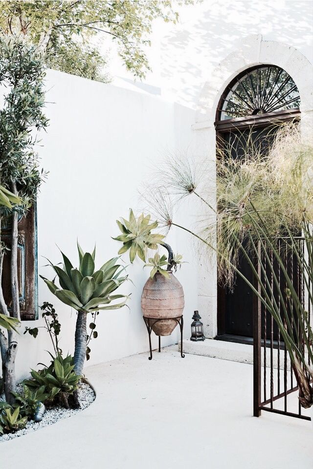 Greens. | Déco. | Pinterest | Gardens, Outdoor spaces and Backyard