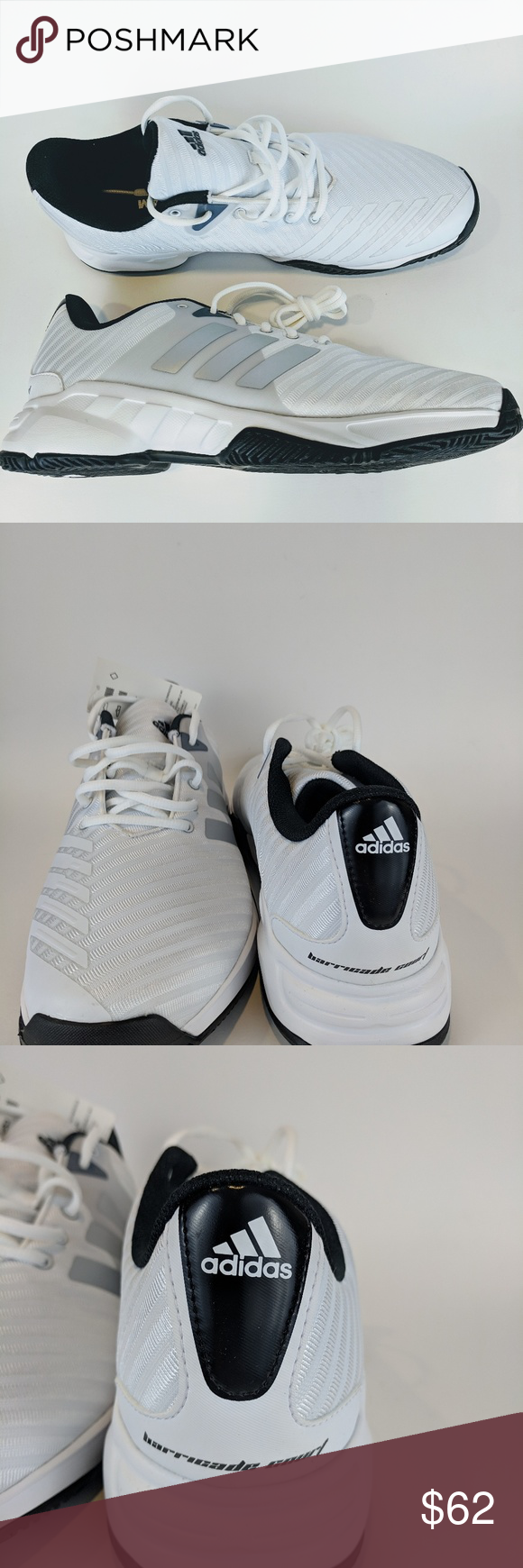 Brand New Barricade Court 3 Wide Shoes New Tennis Court Shoes With Box Adidas Shoes Athletic Shoes Wide Shoes Shoes Tennis Court Shoes