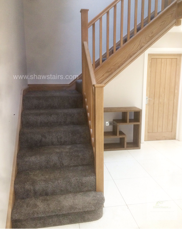 Another Stunning Staircase Fitted Before Christmas Oak Stairs Stairs Stair Parts