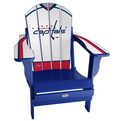 072bbdf12fc My Custom Sports Chair NHL Away Plastic Folding Adirondack Chair Finish   Blue