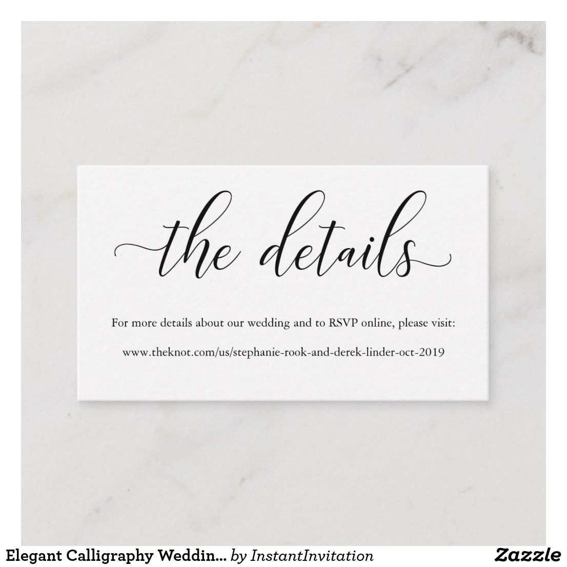 Create your own Enclosure Card  Zazzle.com in 4  Rsvp wedding