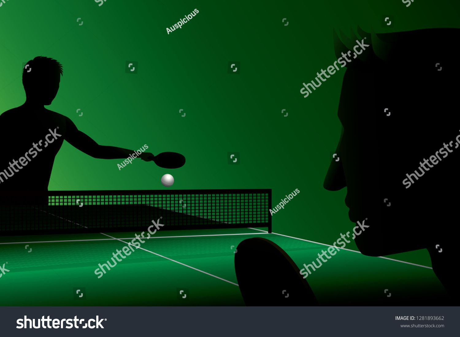 Vector Silhouette Of Table Tennis Player Athlete Sport Game Competition Ad Ad Table Tennis Vector Sil With Images Table Tennis Player Competition Games Table Tennis