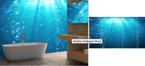 Bubble Wallpaper Mural   FAB New Home