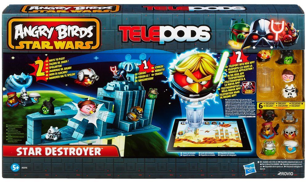 Star Wars Angry Birds Star Destroyer Amazon Co Uk Toys Games
