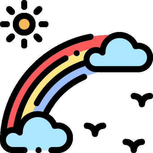 Rainbow Free Vector Icons Designed By Freepik In 2020 Doodle People Vector Icon Design Icon Design