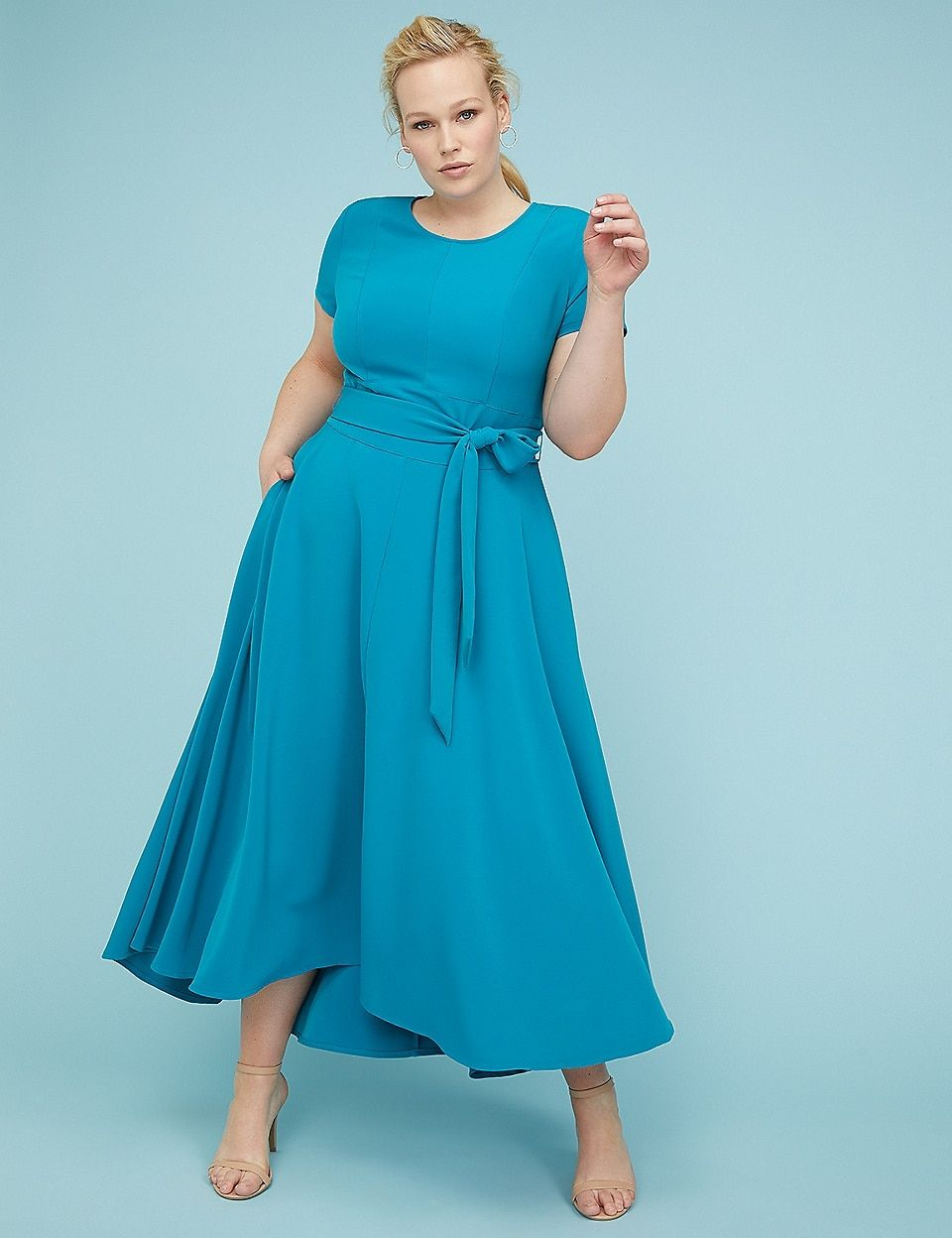 Belted High-Low Maxi Dress | Lane Bryant | Clothes | Dresses ...