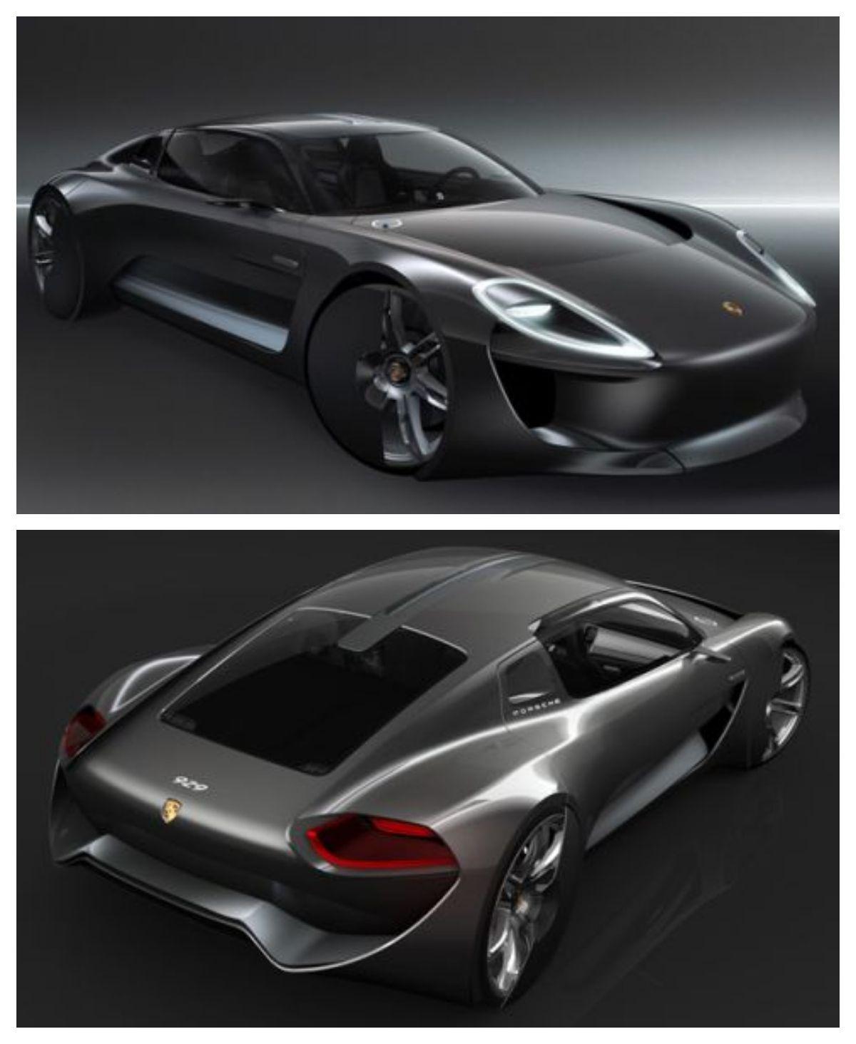 Porsche 929 Electric 4 Seater Sports Toure Super Cars Futuristic Cars Concept Porsche