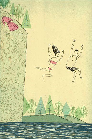 Juxtapoz Magazine Illustrations By Brian Rea In 2020 Graphic Illustration Illustration Art Love Illustration