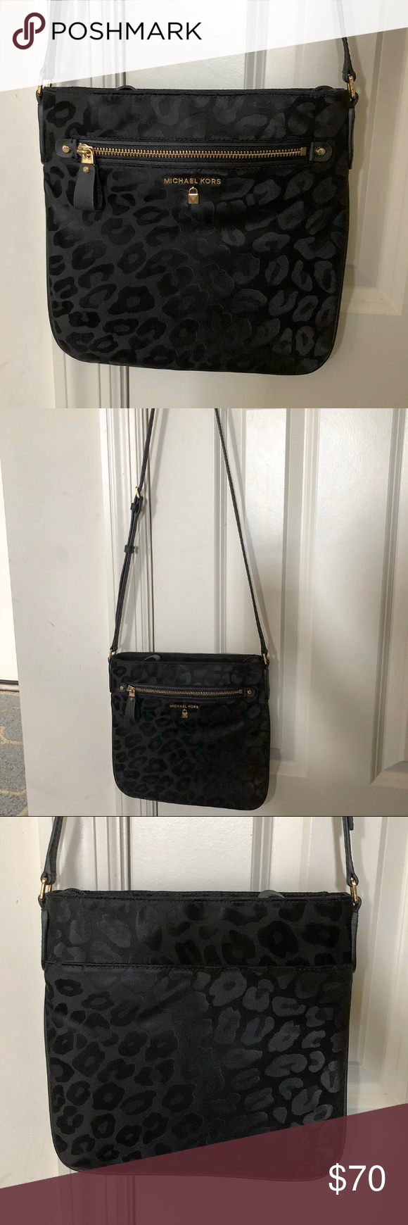 "32d6c81e9a2ee2 Michael Kors ""Kelsey"" Crossbody Nylon Kelsey is durable and beautiful!  Brand new with"