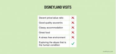 Disneyland visits