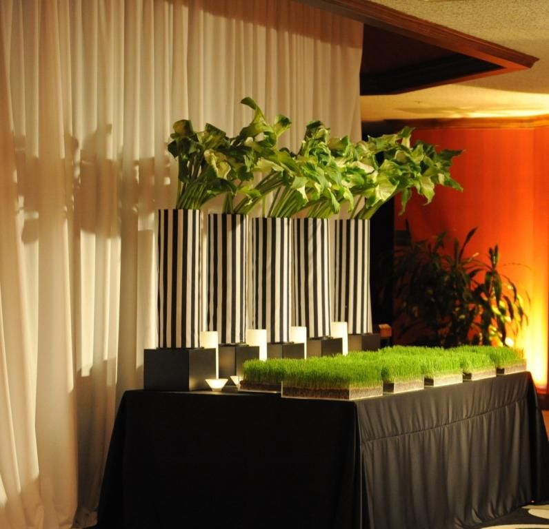Soccer Themed Wedding Ideas: Placecard Table Black And White Event Design Soccer Sports