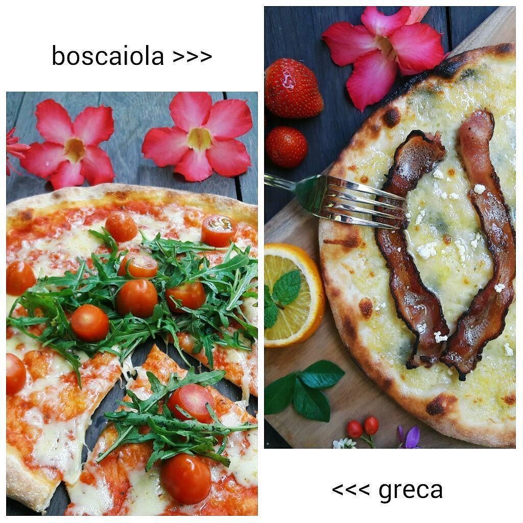 Boscaiola & greca pizza from @luca_s_pizza @thejoglo  #pizza #food #foodporn #instafood #bali #indonesia #italian #foodie #foodgasm #foodpics #foodstagram #lucaspizzabali #madeswarung #holiday #travel #wanderlust #photooftheday #warungmade #balieats #balibible #balilife