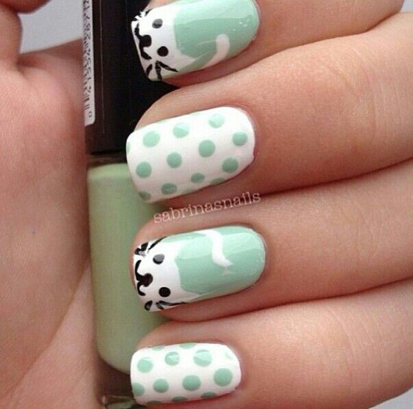 Z(=`ェ´=) #cat #nail #design #nailpolish #manicure | CAT| Manicure ...