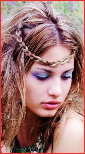 Hippie Hairstyles for Medium Hair 134773 Boho Hairstyle Bohemian Rhapsody In 2018 Pinterest