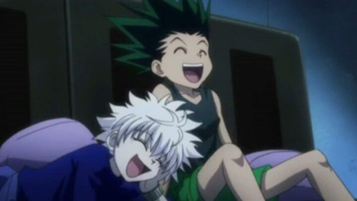 LOL I love these two so much! XD Gon and Killua