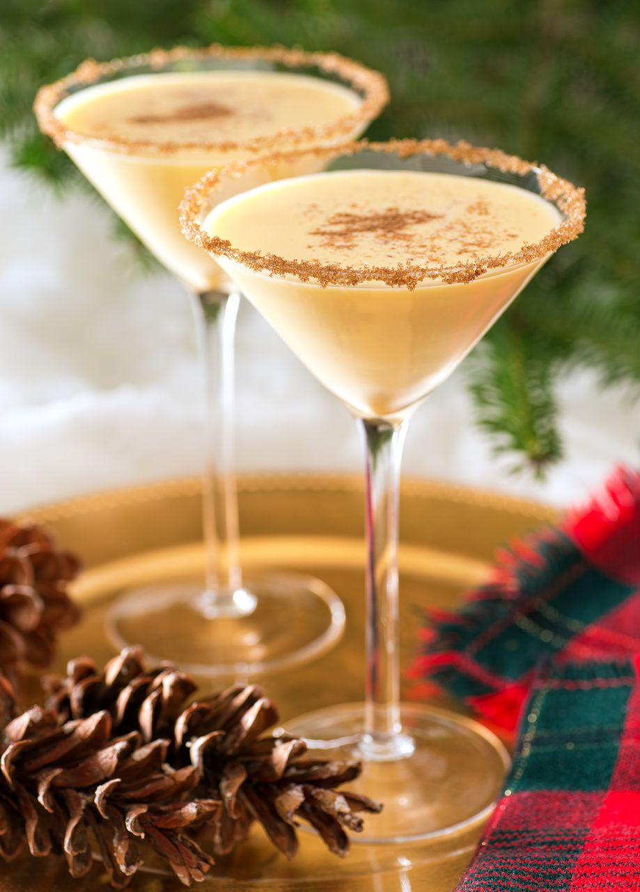 Top 10 Christmas Cocktails Eggnog Cocktail Eggnog