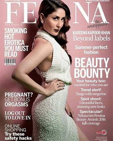 Kareena Kapoor Magazine Cover Looks , Oodles Of Royalty And