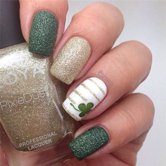 Top 10 Lucky Shamrock Nail Art Tutorial For St Patricks Day In