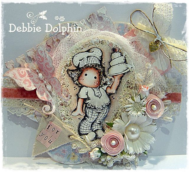 Debbie Dolphin: Midweek Reminder for the Ribbon Girls Card Challenge