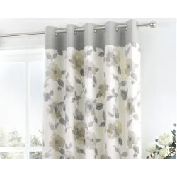 Photo of Reger curtain set with eyelets, opaqueWayfair.de