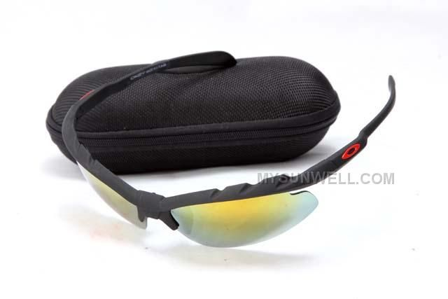 e740e16475 New Oakley Sport Sunglass Blue Frame Grey Lens On Sale   Cheap Oakleys  Sunglasses