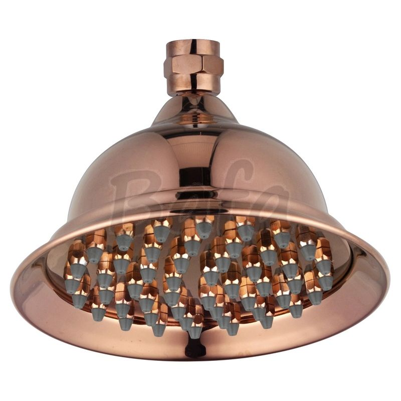 copper indoor/outdoor shower head | Copper Outdoor Baths & Showers ...