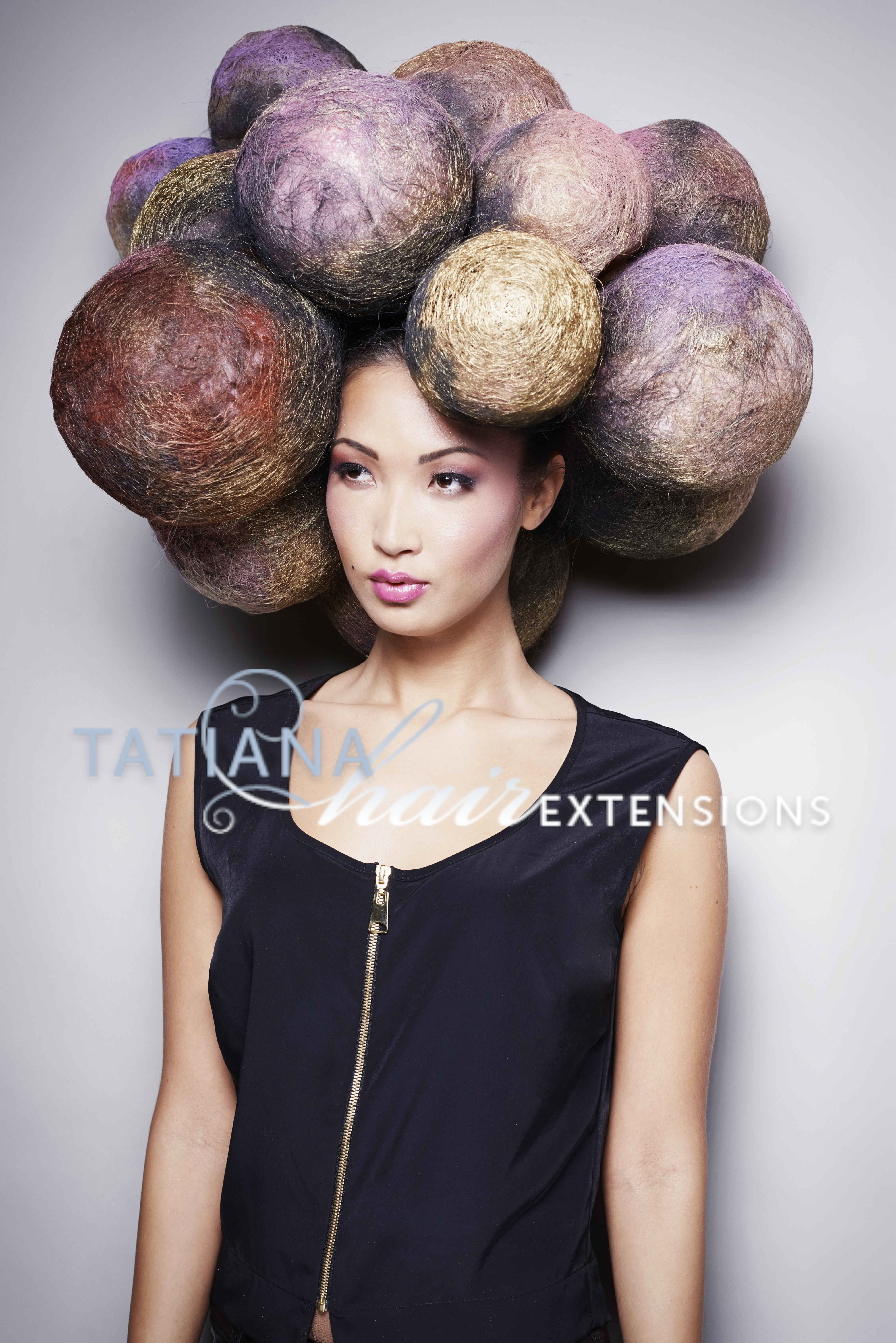 Avant Garde Hair Hairstyle Byntatianahairextensions Using Hair
