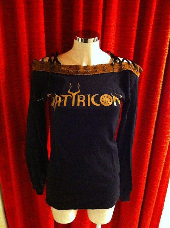 Satyricon Korsett Longsleeve Dress black size S-M