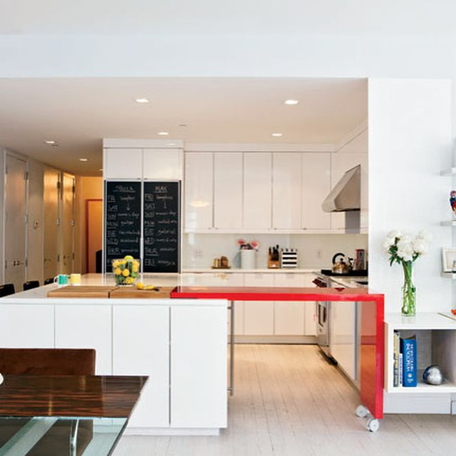New York Kitchen Design: Well Thought Out Open Space That Integrates Kitchen