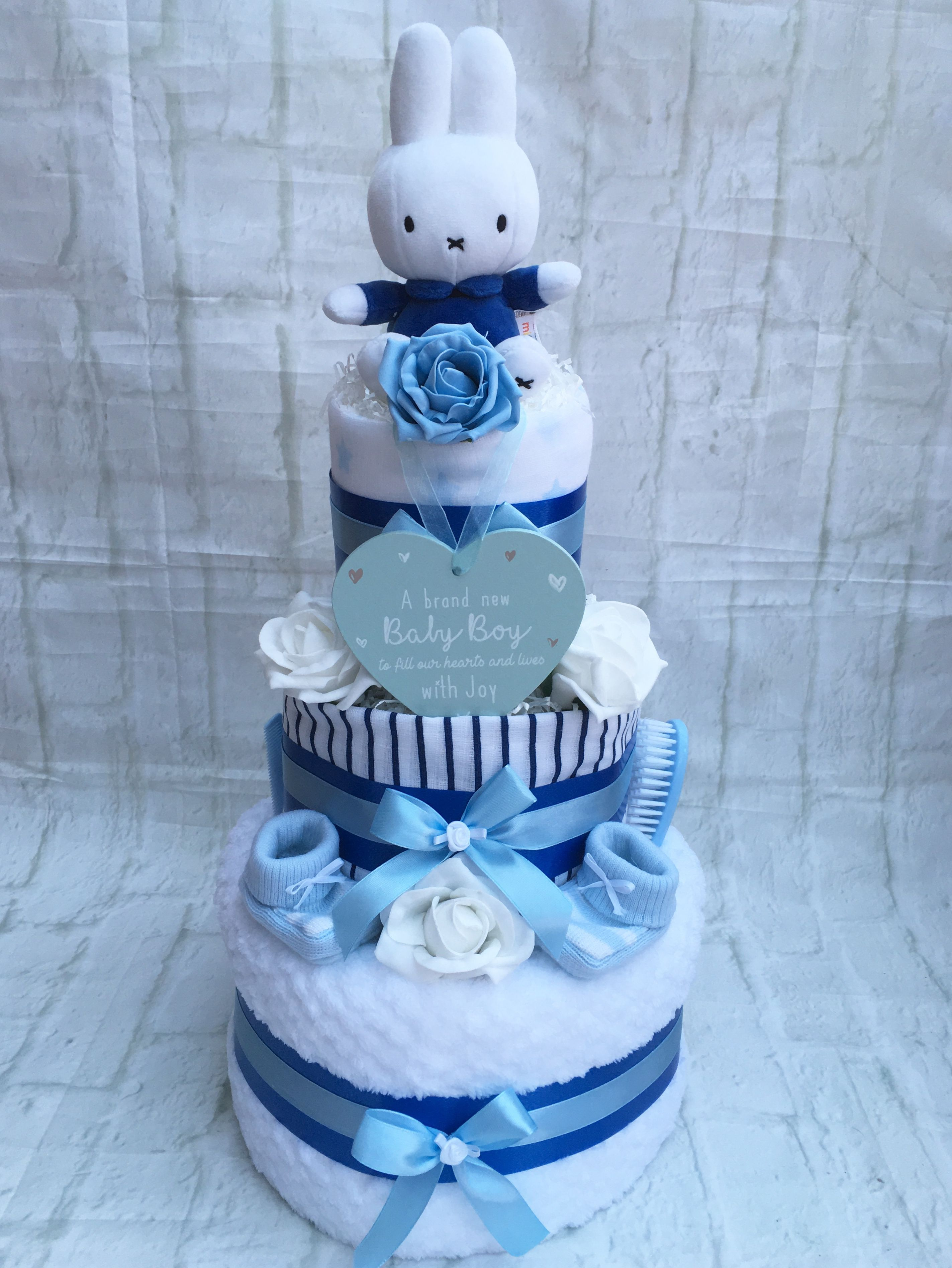 Truly Gifts UK | Gifts for Baby and Mum-To-Be | Baby Shower Gifts | Baby  shower diaper cake, Baby nappy cakes, Baby diaper cake