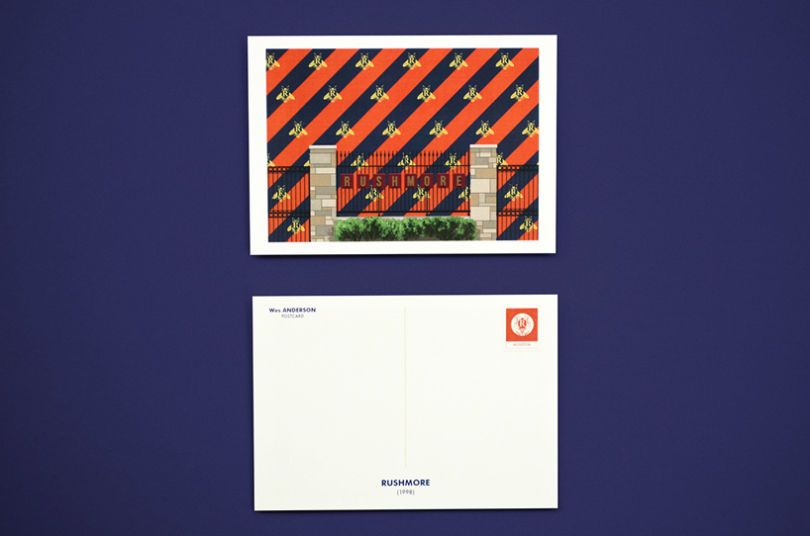 Le cartoline tratte dai film di Wes Anderson sono una figata