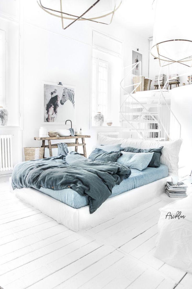 © Paulina Arcklin Bettwäsche blau, Coole betten und